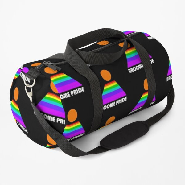 Broome Pride Logo - white Duffle Bag