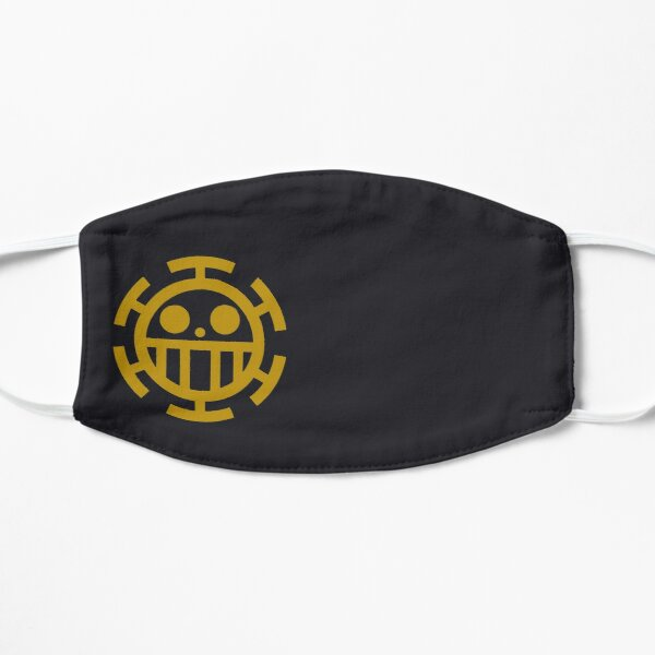 Trafalgar Law Jolly Roger Masque sans plis