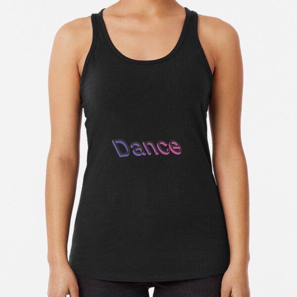 Dance #1 Racerback Tank Top