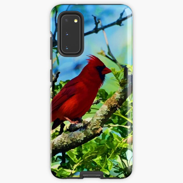 Red Cardinal Samsung Galaxy Tough Case