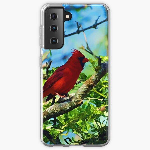 Red Cardinal Samsung Galaxy Soft Case