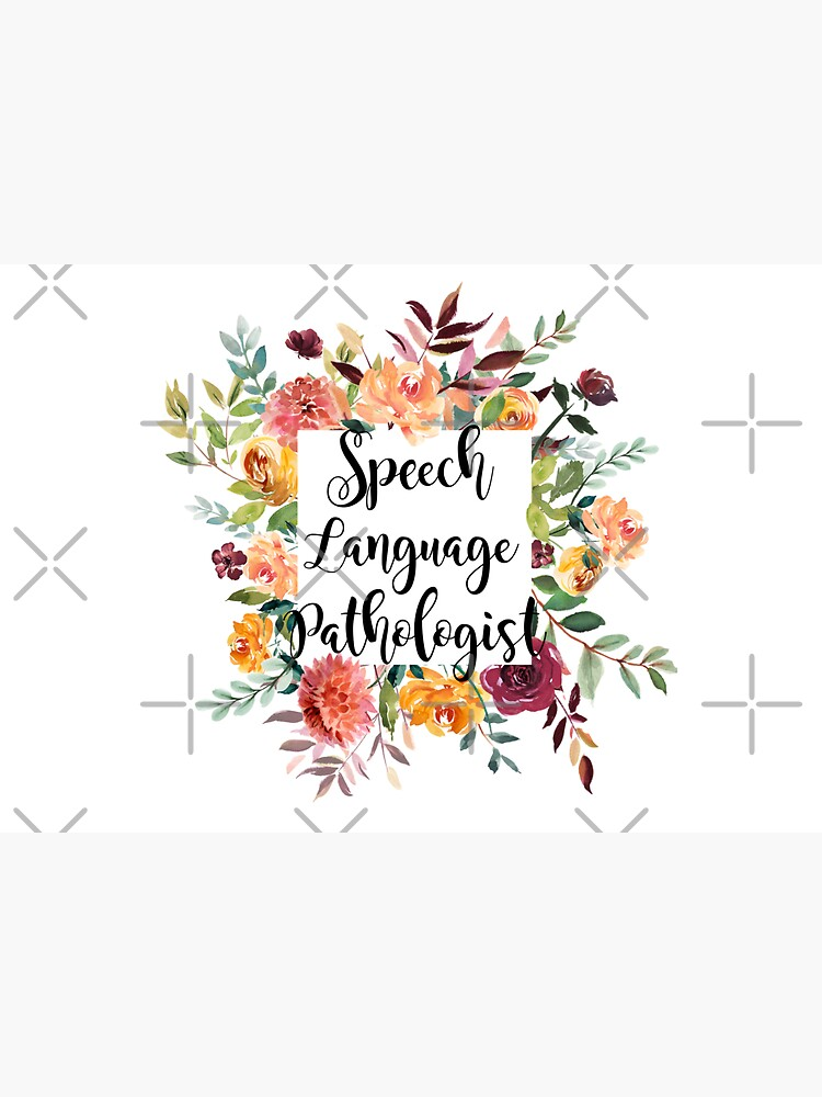 Speech language pathologist by EvyStickersx