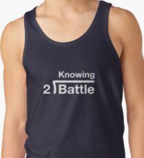 GI Joe: Knowing is half the battle (army green drab) Tank Top