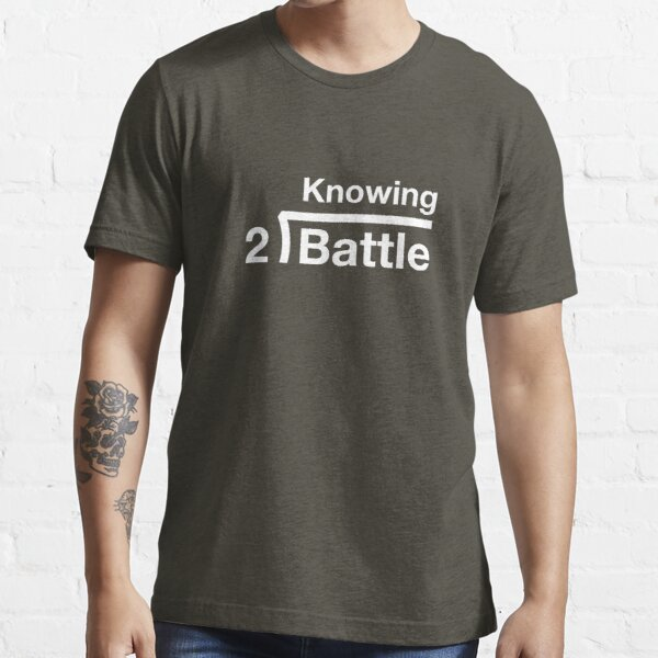 GI Joe: Saber es la mitad de la batalla (monótona verde militar) Camiseta esencial