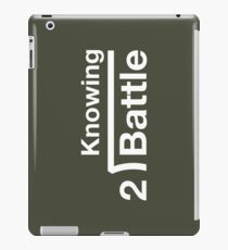 GI Joe: Knowing is half the battle (army green drab) iPad Case/Skin