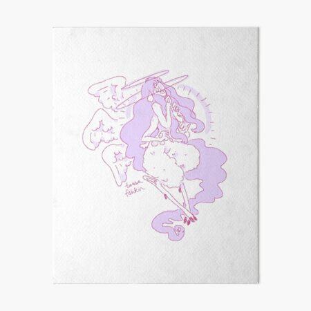 Violet Angel Art Board Print