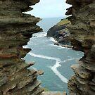 Window - Tintagel Castel, Cornwall  by rsangsterkelly