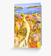 Down to the water Greeting Card