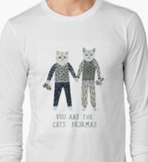 You are the Cat's Pajamas Long Sleeve T-Shirt