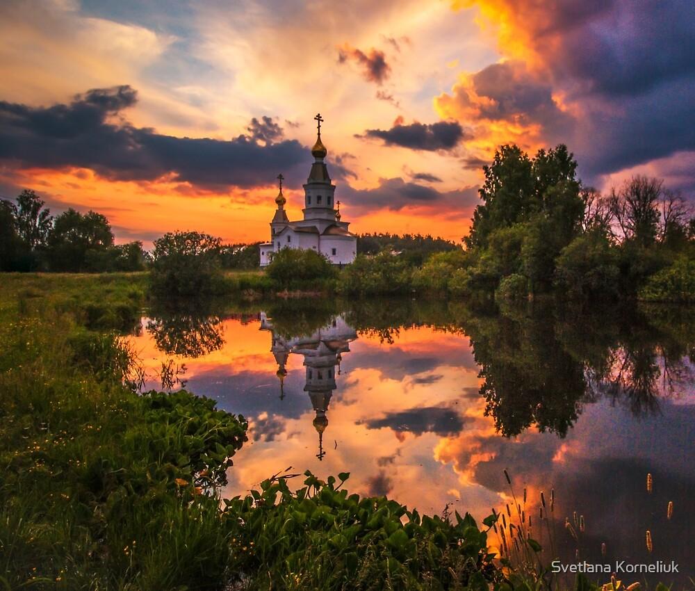 Summer sunset by Svetlana Korneliuk