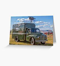 "1953 Austin Lodestar TV Vehicle RXX905 ""Thumper"" Greeting Card"