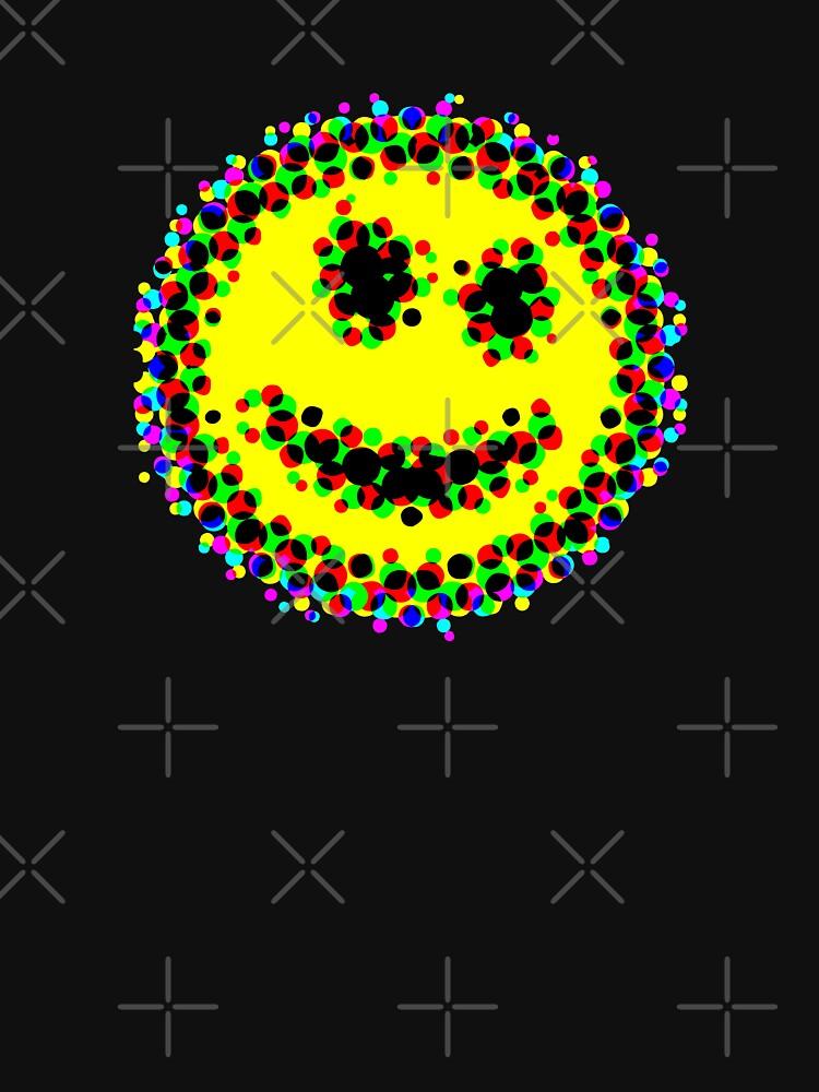 Acid smiley pixelate by technotic