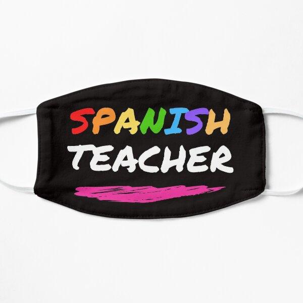 Spanish Teacher Colorful Face Mask Mask