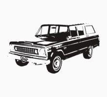 1974 Jeep Wagoneer | Unisex T-Shirt