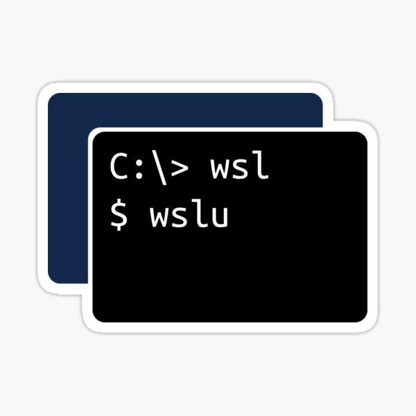 WSL Utilities - wslu Sticker