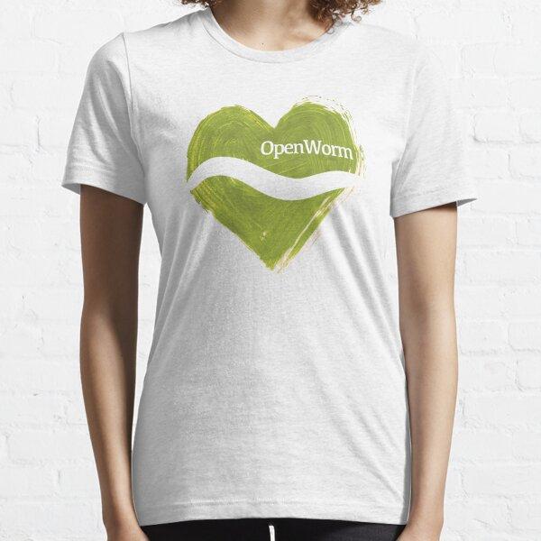 <3 OpenWorm Essential T-Shirt