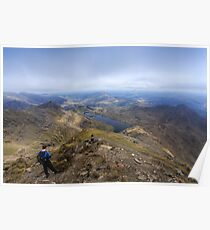 Snowdon Peak Poster
