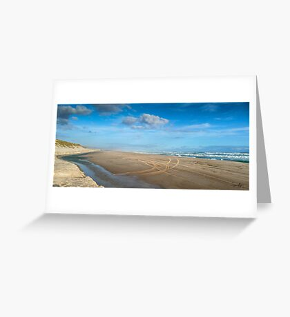 Warren River Mouth Greeting Card