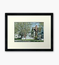 Neighborhood Framed Print