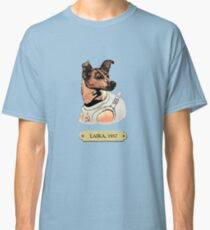 Laika: First animal in space orbit Classic T-Shirt