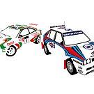 Sega Rally Tribute - Lancia vs Toyota by RacingColour