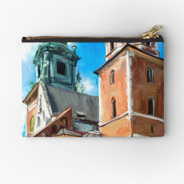 Wawel Cathedral Krakow Zipper Pouch
