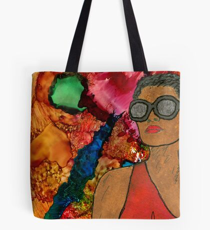 Blue Moon Trance Tote Bag