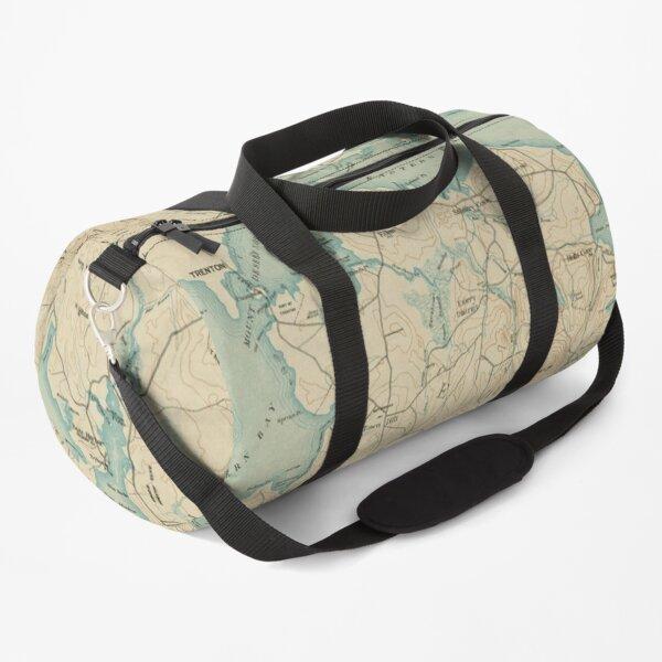 Vintage Map of Mount Desert Island ME (1901) Duffle Bag