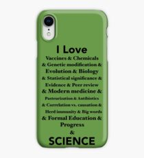 I Love Science iPhone XR Case