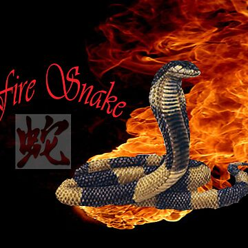 Zodiac fire snake by Rx77