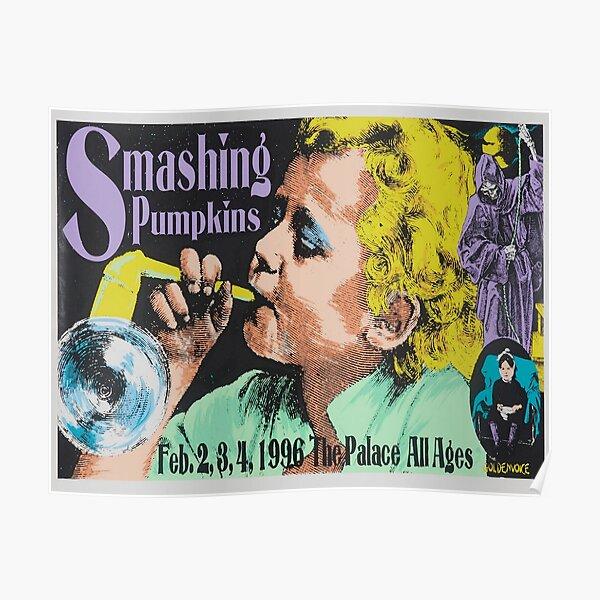 Smashing Pumpkins at The Palace Hollywood 1996 Poster Print. Poster