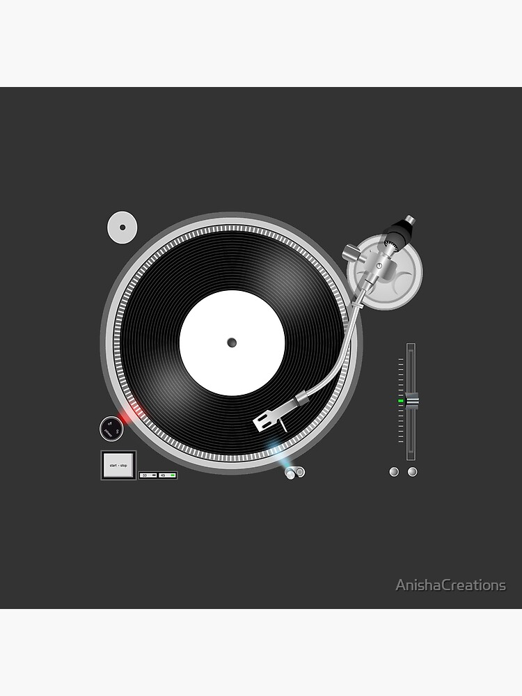 TURNTABLE by AnishaCreations