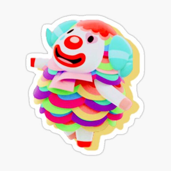 ACNH Sticker Sheets Raymond Marshal Judy Zucker Pietro Merengue Sherb Flick Daisy Mae Stitches Maple