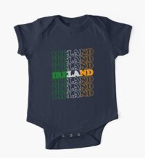 Ireland St Patricks Day Flag Kids Clothes