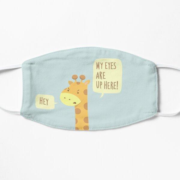 Giraffe Problems! Flat Mask