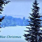 Blue Christmas by Poete100