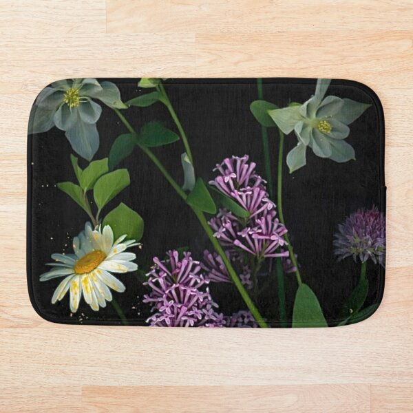 The Chaos of Pollen Bath Mat