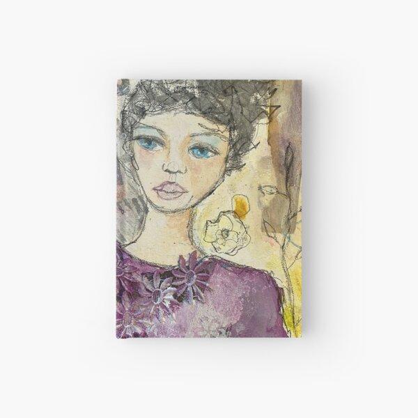 Girl with Crow Notizbuch