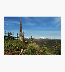Mount Lassen From A Distance Photographic Print