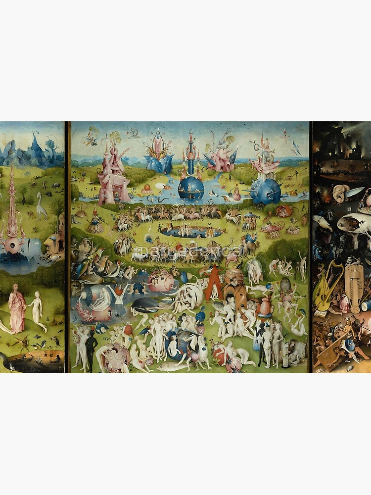 The Garden of Earthly Delights - Hieronymus Bosch by maryedenoa