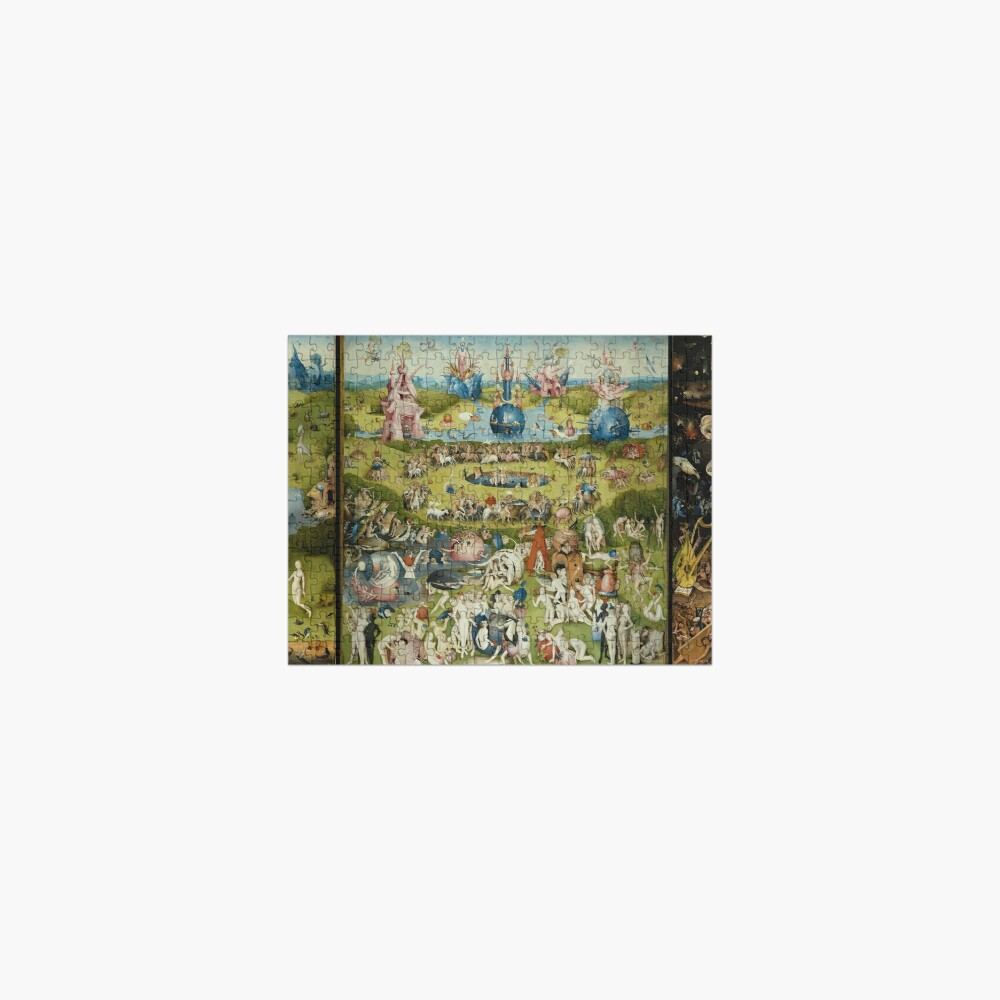 The Garden of Earthly Delights - Hieronymus Bosch Jigsaw Puzzle