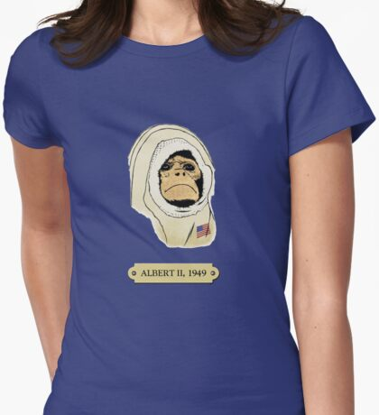 Albert II: The first monkey in space T-Shirt