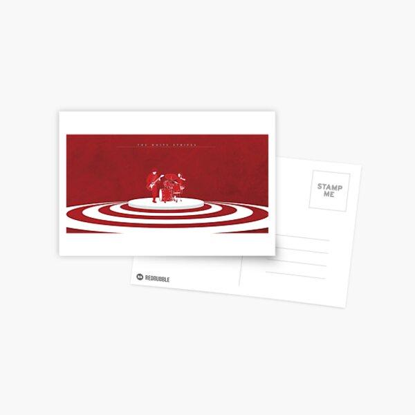The White Stripes Wide Postcard