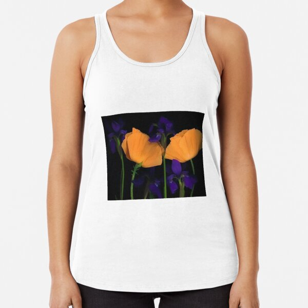 Poppy and Iris Racerback Tank Top