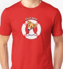 Jack Russell :: First Mate Unisex T-Shirt