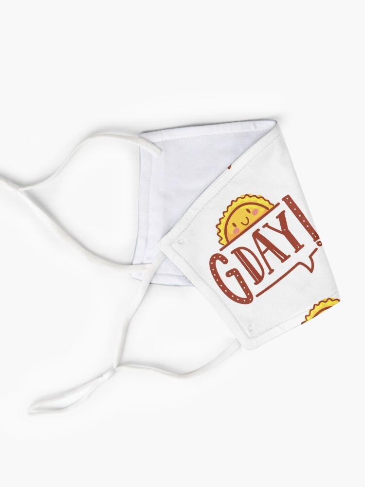 Alternate view of G'day by AussiEmoji™ Australia Mask