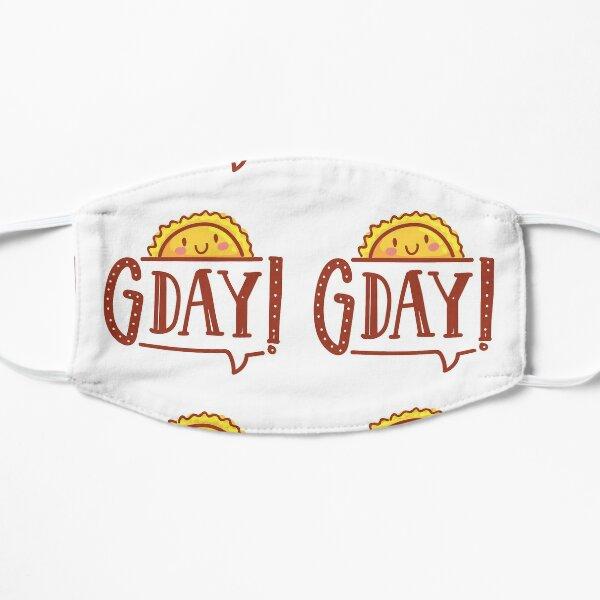 G'day by AussiEmoji™ Australia Flat Mask