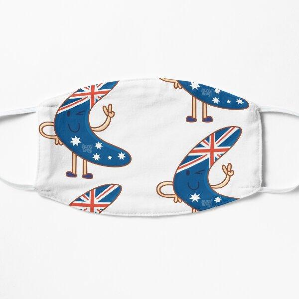 Aussie Boomerang Flat Mask