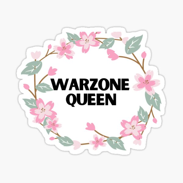 Warzone Queen Sticker