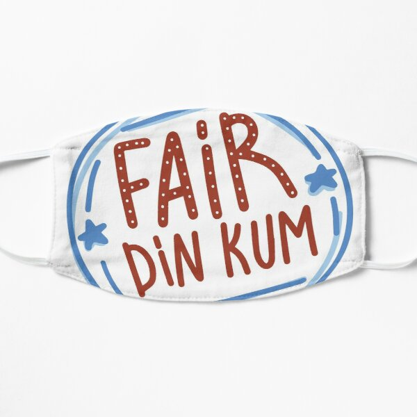 Fair Dinkum by AussiEmoji™ Australia Flat Mask